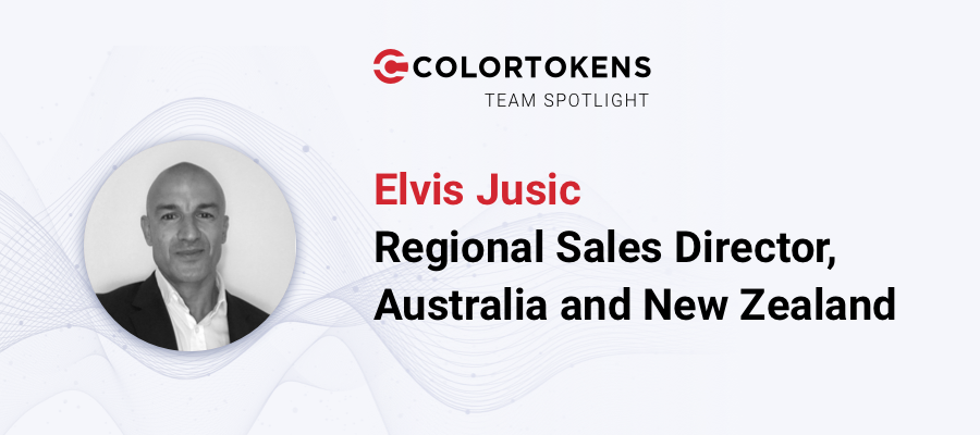 ANZ Sales Director Elvis Jusic